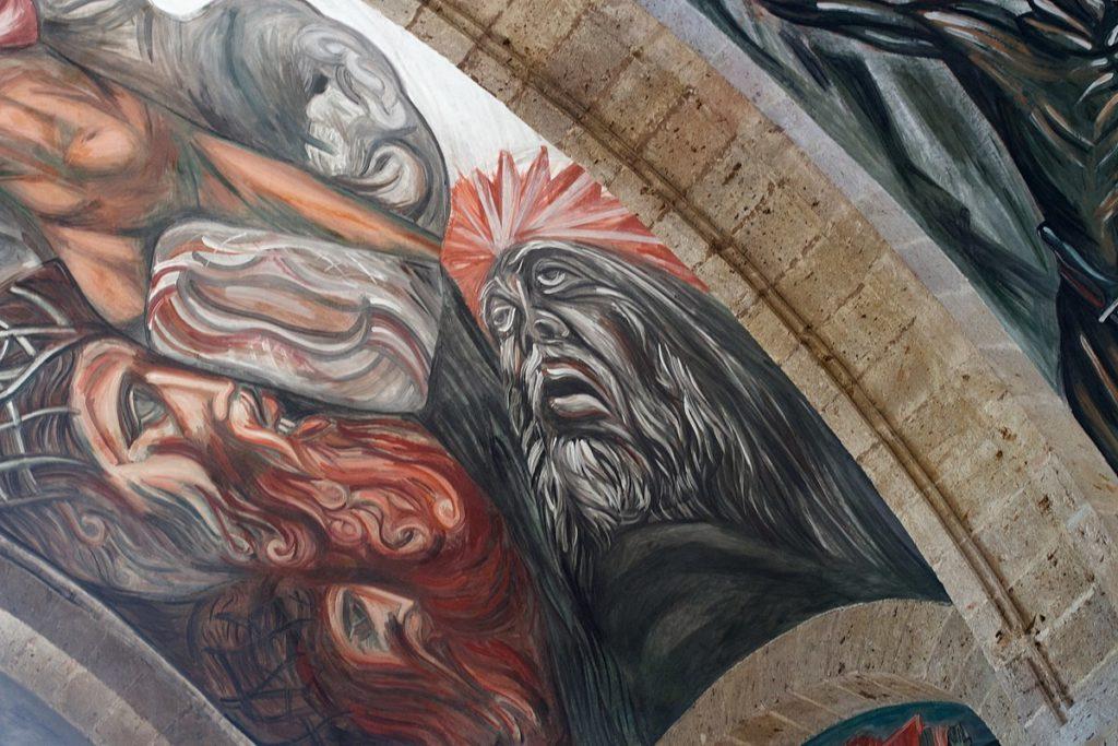 Obre de José Clemente Orozco en el Instituto Cultural Cabañas en Guadalajara.