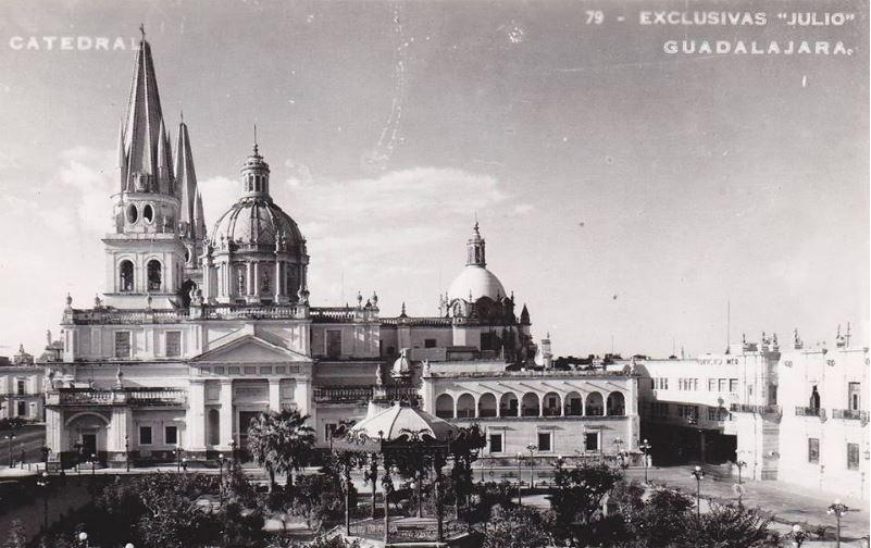 Apariencia actual de la Catedral de Guadalajara