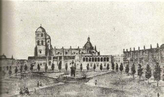 Catedral de Guadalajara con Torres Originales