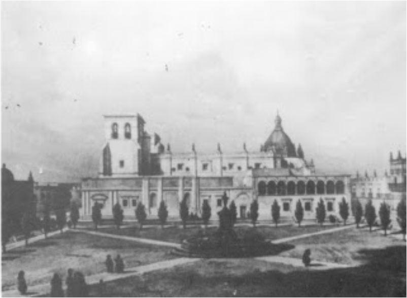 Catedral de Guadalajara sin sus torres