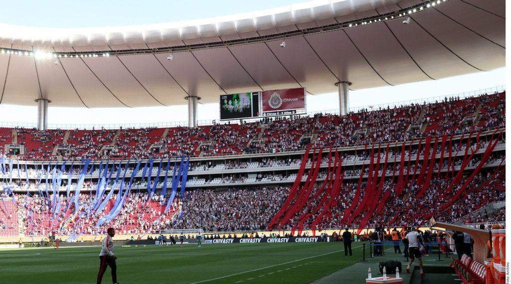 Estadio Akron, casa de las Chivas de Guadalajara