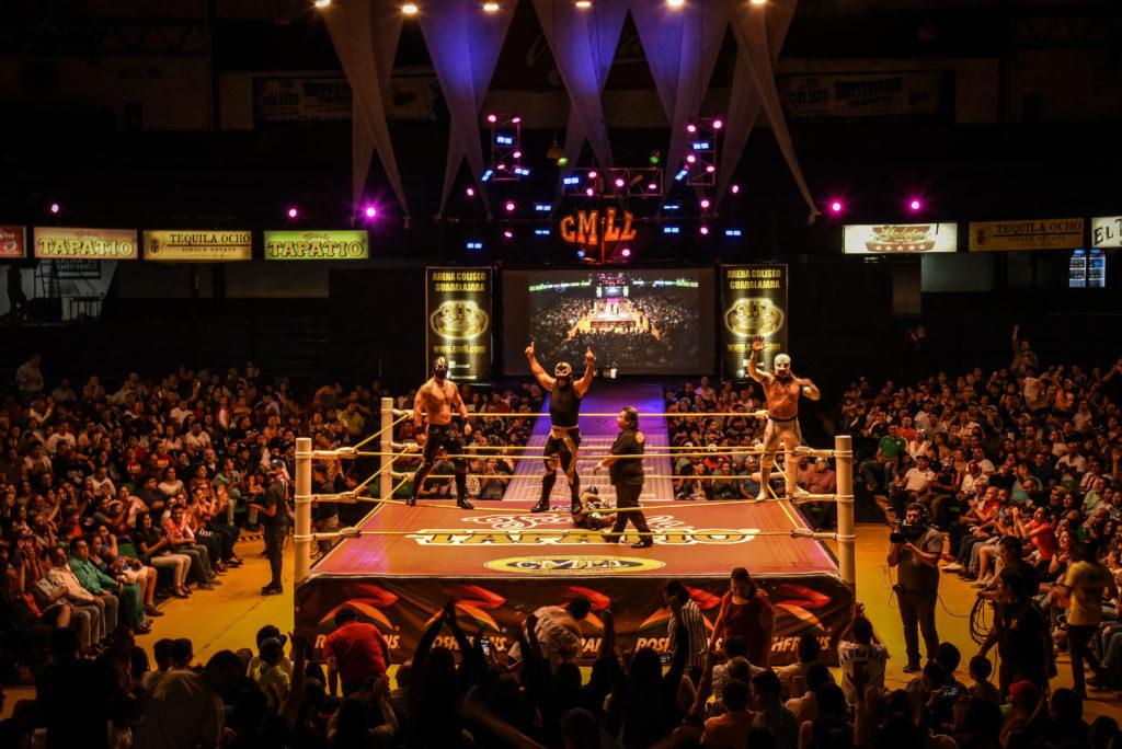 Lucha libre en Guadalajara
