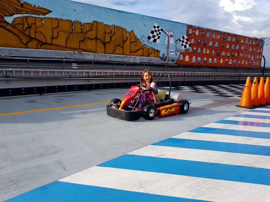 Go Karts de Fun Mountain en Guadalajara. Guadalajara para niños.