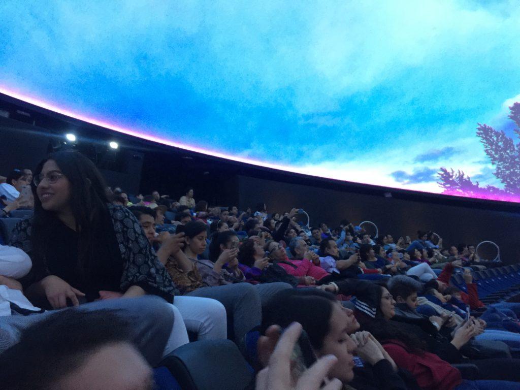 Planetario Lunaria de Guadalajara. Domo de Proyecciones. Guadalajara para niños.