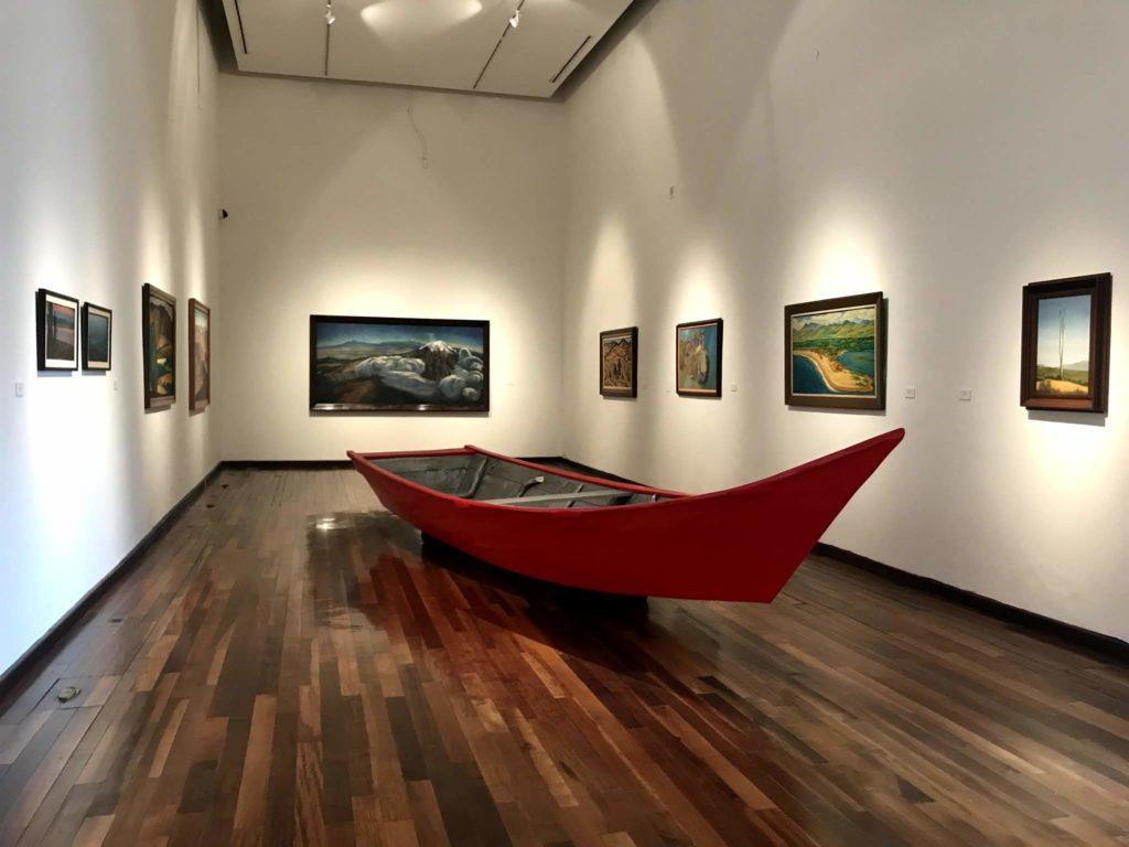 Sala de Exhibiciones del Museo del Instituto Cultural Cabañas