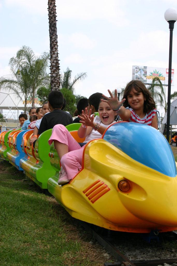 Tren Infantil en Natural Adventure. Guadalajara para Niños.