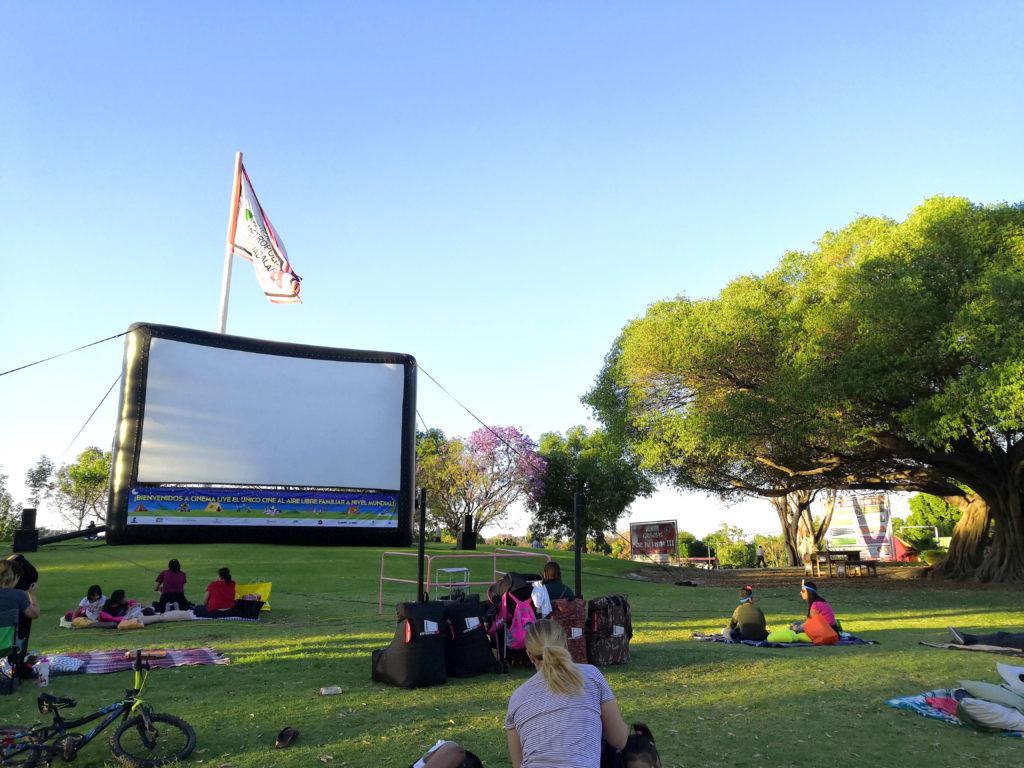 Función de Cine en el Parque Metropolitano