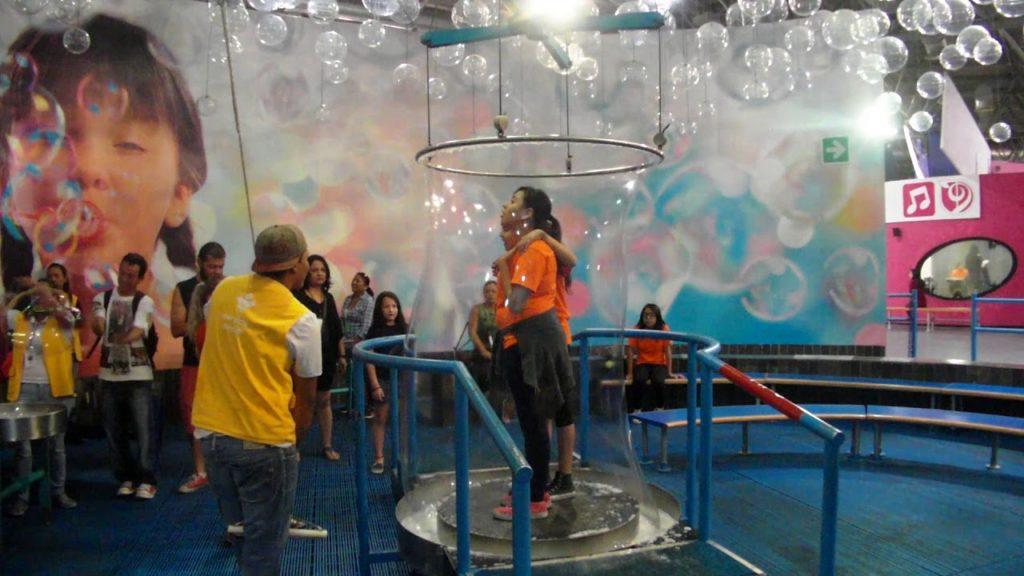 """Sala """"Burbujas"""" del Museo Interactivo Trompo Mágico en Guadalajara"""