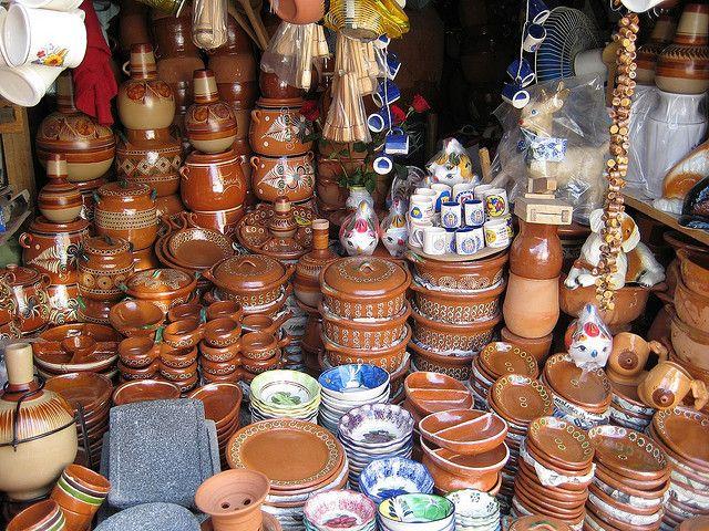 Mercado de Artesanías a la orilla del lago