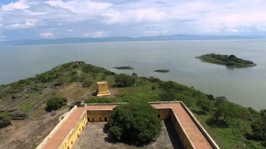 Isla Mezcala en el Lago de Chapala