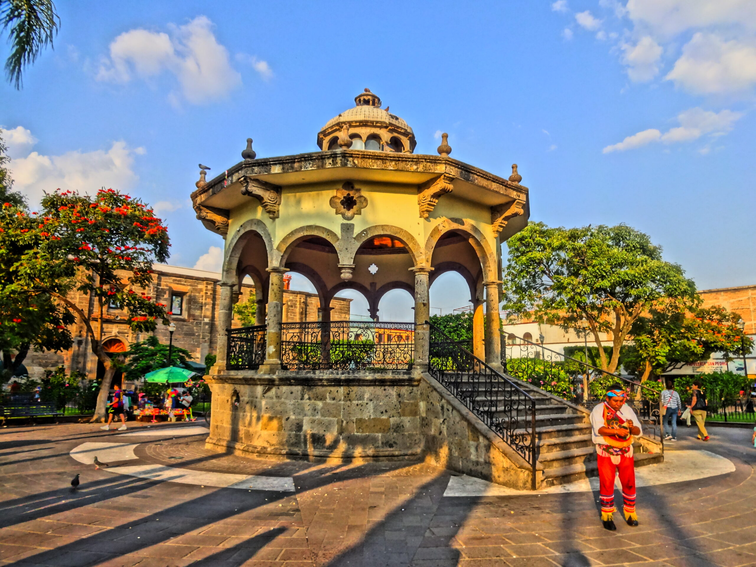Jardín Hidalgo en Tlaquepaque