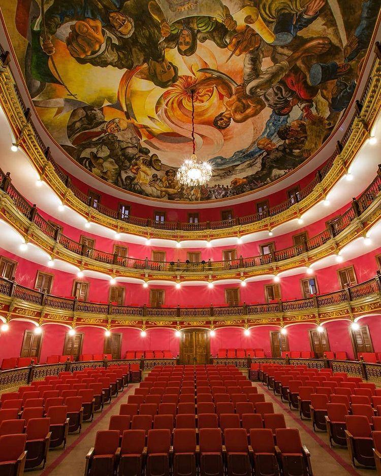 Teatro José Rosas Moreno. Lagos de Moreno, Jal.