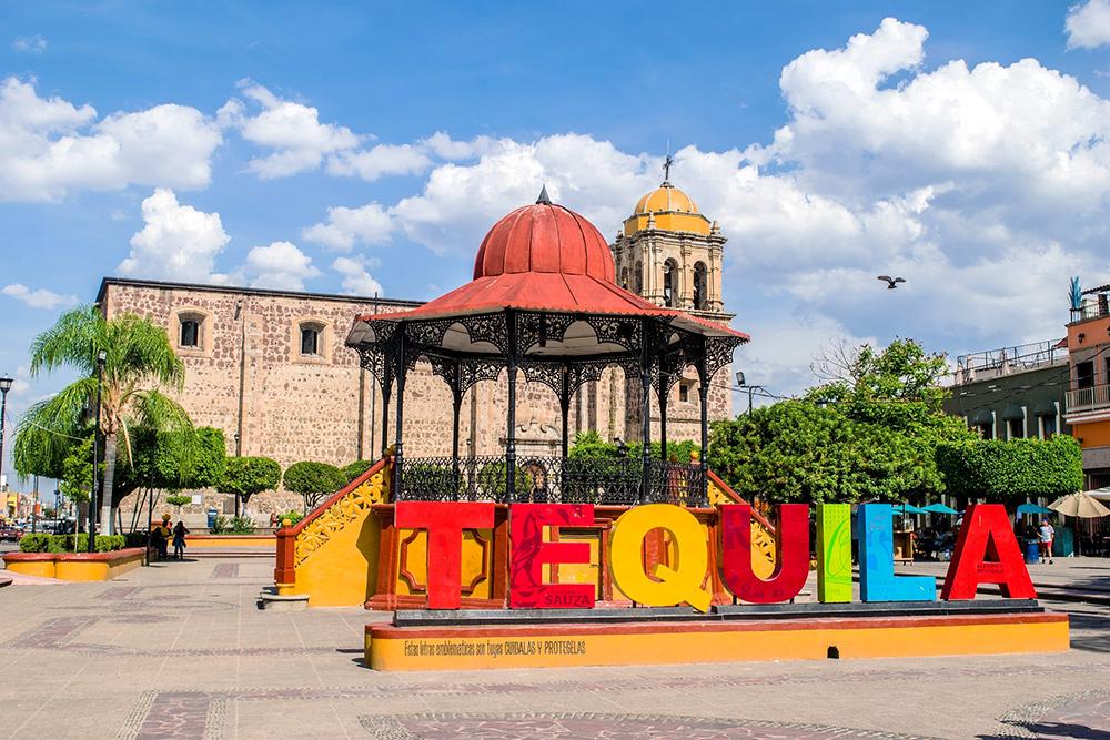 Plaza Central de Tequila, Jalisco